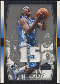 2004/05 SP Game Used #67 Carmelo Anthony Jersey