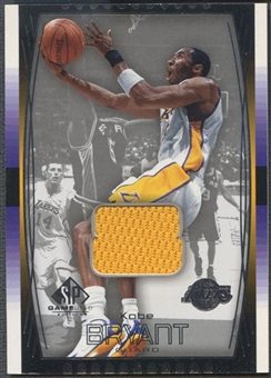 2004/05 SP Game Used #72 Kobe Bryant Jersey