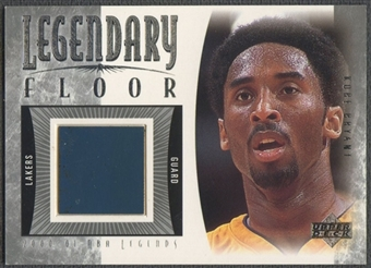 2001/02 Upper Deck Legends #KBF Kobe Bryant Legendary Floor