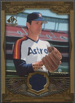 2006 SP Legendary Cuts #NR Nolan Ryan Legendary Materials Gold Jersey #197/225