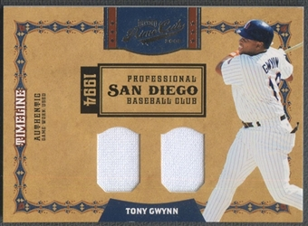 2008 Prime Cuts #39 Tony Gwynn Timeline Materials Combos Jersey #38/99