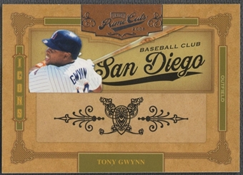 2008 Prime Cuts #45 Tony Gwynn Icons #13/25