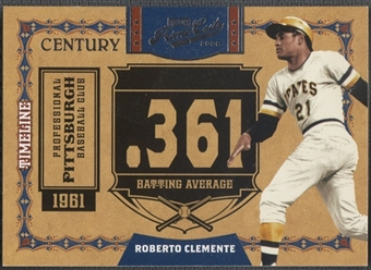 2008 Prime Cuts #25 Roberto Clemente Timeline Silver #10/10