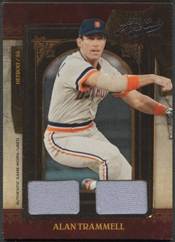 2008 Playoff Prime Cuts #2 Alan Trammell Dual Materials Jersey #58/60