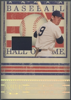 2005 Donruss Signature #34 Ted Williams Hall of Fame Material Jersey