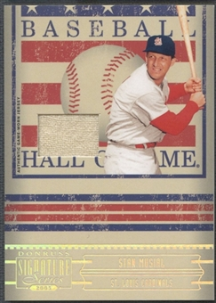 2005 Donruss Signature #15 Stan Musial Hall of Fame Material Jersey