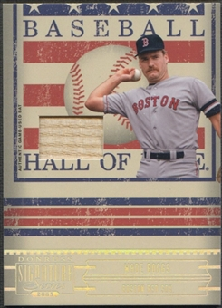 2005 Donruss Signature #33 Wade Boggs Hall of Fame Material Bat