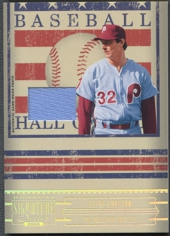 2005 Donruss Signature #16 Steve Carlton Hall of Fame Material Jersey Pants