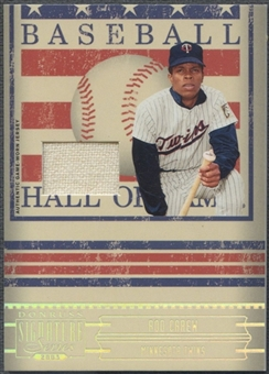 2005 Donruss Signature #13 Rod Carew Hall of Fame Material Jersey
