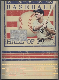 2005 Donruss Signature #3 Bobby Doerr Hall of Fame Material Jersey