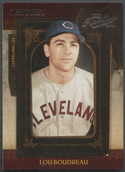2008 Playoff Prime Cuts #55 Lou Boudreau Century Silver #04/25