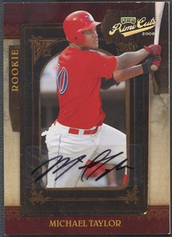 2008 Playoff Prime Cuts #130 Michael Taylor Rookie Auto #006/249