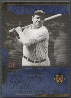 2005 Ultimate Collection #102 Babe Ruth #141/275