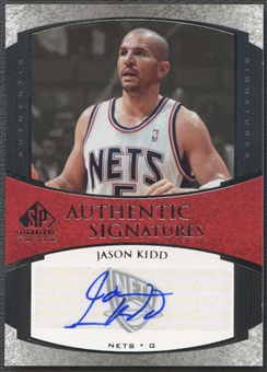 2005/06 SP Signature Edition #JA Jason Kidd Signatures Auto