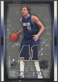 2004/05 SP Game Used #65 Dirk Nowitzki Jersey