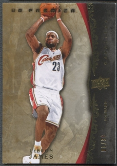 2008/09 Upper Deck Premier #56 LeBron James #01/99