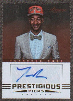 2012/13 Prestige Prestigious Picks Signatures #52 Terrence Ross Autograph