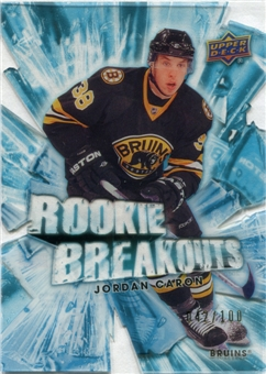 2010/11 Upper Deck Rookie Breakouts #RB5 Jordan Caron 42/100
