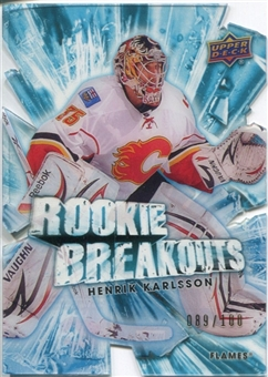 2010/11 Upper Deck Rookie Breakouts #RB6 Henrik Karlsson /100