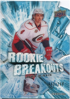 2010/11 Upper Deck Rookie Breakouts #RB9 Jamie McBain /100