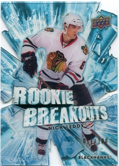 2010/11 Upper Deck Rookie Breakouts #RB10 Nick Leddy 11/100