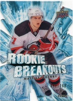 2010/11 Upper Deck Rookie Breakouts #RB17 Mattias Tedenby 51/100