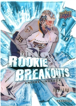 2010/11 Upper Deck Rookie Breakouts #RB19 Anders Lindback /100