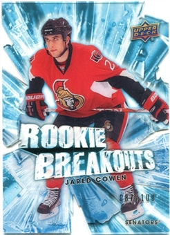 2010/11 Upper Deck Rookie Breakouts #RB23 Jared Cowen 87/100