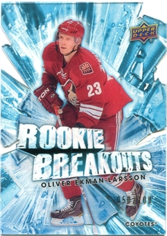 2010/11 Upper Deck Rookie Breakouts #RB25 Oliver Ekman-Larsson /100