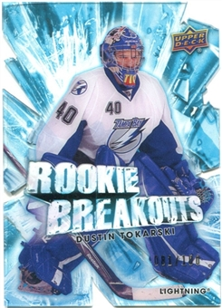 2010/11 Upper Deck Rookie Breakouts #RB27 Dustin Tokarski /100