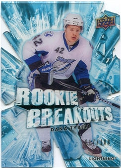 2010/11 Upper Deck Rookie Breakouts #RB28 Dana Tyrell /100
