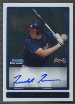 2009 Bowman Chrome Prospects #BCP101 Freddie Freeman Rookie Auto