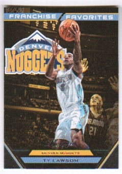 2012/13 Panini Prestige Franchise Favorites #25 Ty Lawson