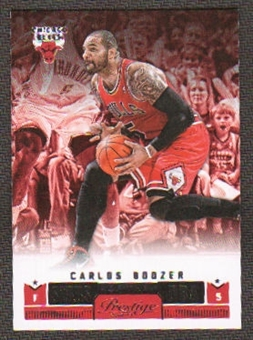 2012/13 Panini Prestige Stars of the NBA #23 Carlos Boozer
