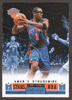 2012/13 Panini Prestige Stars of the NBA #25 Amare Stoudemire