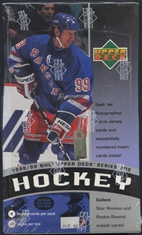 1998/99 Upper Deck Series 1 Hockey Prepriced Box