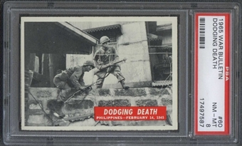 1965 War Bulletin #60 Dodging Death PSA 8 (NM-MT) *7587