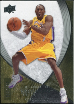 2007/08 Upper Deck Exquisite Collection #3 Kobe Bryant 142/225