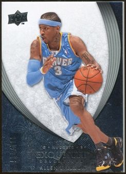 2007/08 Upper Deck Exquisite Collection #6 Allen Iverson /225