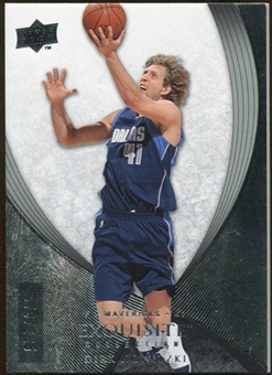 2007/08 Upper Deck Exquisite Collection #15 Dirk Nowitzki 73/225