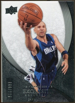 2007/08 Upper Deck Exquisite Collection #19 Jason Kidd /225
