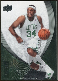2007/08 Upper Deck Exquisite Collection #21 Paul Pierce 127/225