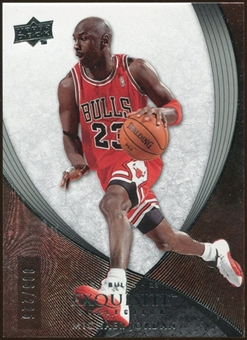 2007/08 Upper Deck Exquisite Collection #23 Michael Jordan /225