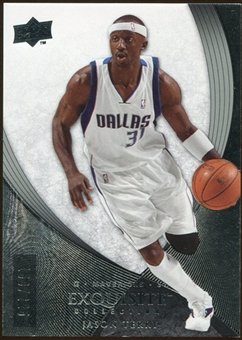 2007/08 Upper Deck Exquisite Collection #32 Jason Terry /225