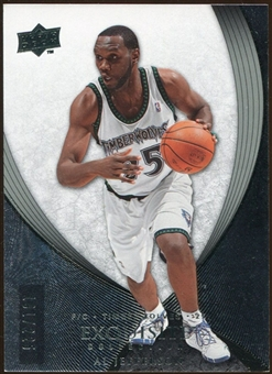 2007/08 Upper Deck Exquisite Collection #52 Al Jefferson /225