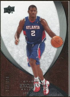 2007/08 Upper Deck Exquisite Collection #53 Joe Johnson /225