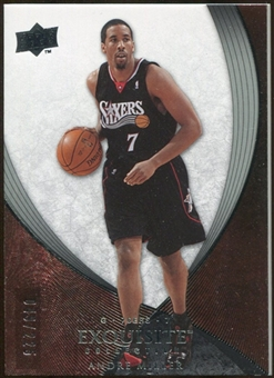 2007/08 Upper Deck Exquisite Collection #56 Andre Miller /225