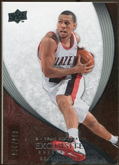 2007/08 Upper Deck Exquisite Collection #57 Brandon Roy /225