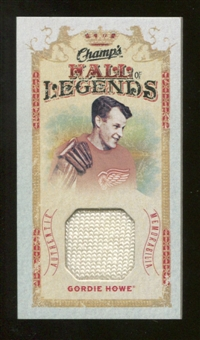 2009/10 Upper Deck Champ's Hall of Legends Memorabilia #HLGH Gordie Howe