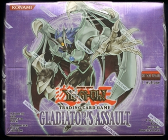 Yu-Gi-Oh Gladiator's Assault 1st Edition Booster Box (German)